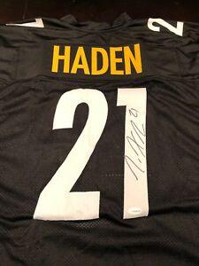 buy online db9eb 02732 Joe Haden Autographed Custom Pittsburgh Steelers Jersey TSE ...