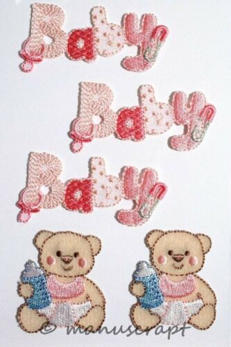 Baby pink Artoz CREA-Motions Sticker