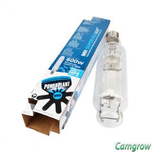 PowerPlant 250 400 600 1000w MH Metal Halide SuperVeg Grow Lamp Bulb Hydroponics
