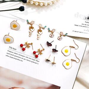 Cartoon-Fruit-Animal-Heart-Enamel-Mix-Style-Dangle-Drop-Earrings-Stud-Jewelry-GQ