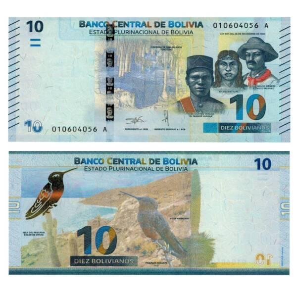 100% De Qualité Pick New Bolivie/bolivia 10 Pesos Bolivianos 2018 Unc. 4728311vvv Les Catalogues Seront EnvoyéS Sur Demande