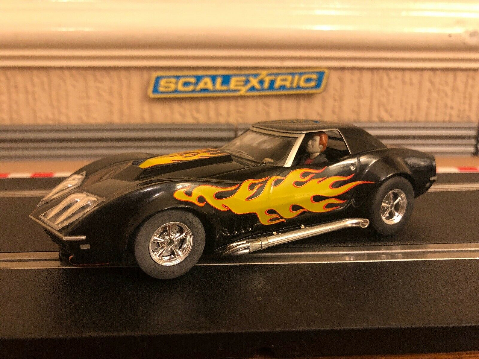 Scalextric Chevrolet Corvette 1972 No57 L-88 Starsky & Hutch Rare Car