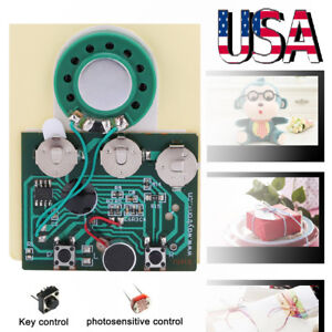 30s Recordable Voice Module fr Greeting Card Music Sound ...