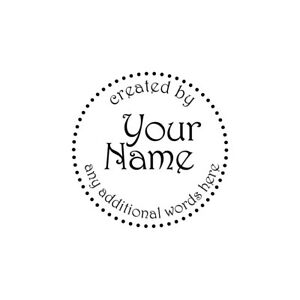 UNMOUNTED-PERSONALIZED-CREATED-BY-CUSTOM-RUBBER-STAMPS-C106