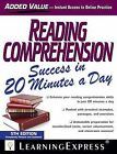 Reading Comprehension Success in 20 Minutes a Day by Learning Express (NY) (Paperback / softback, 2012)