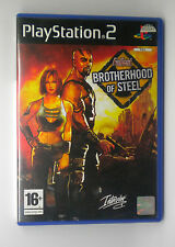 FALLOUT BROTHERHOOD OF STEEL  SONY PS2 PLAY STATION PS 2