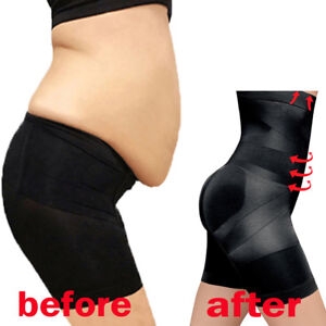 98791ee0dcc20 Image is loading US-Women-Slimming-Body-Shaper-Control-Tummy-High-