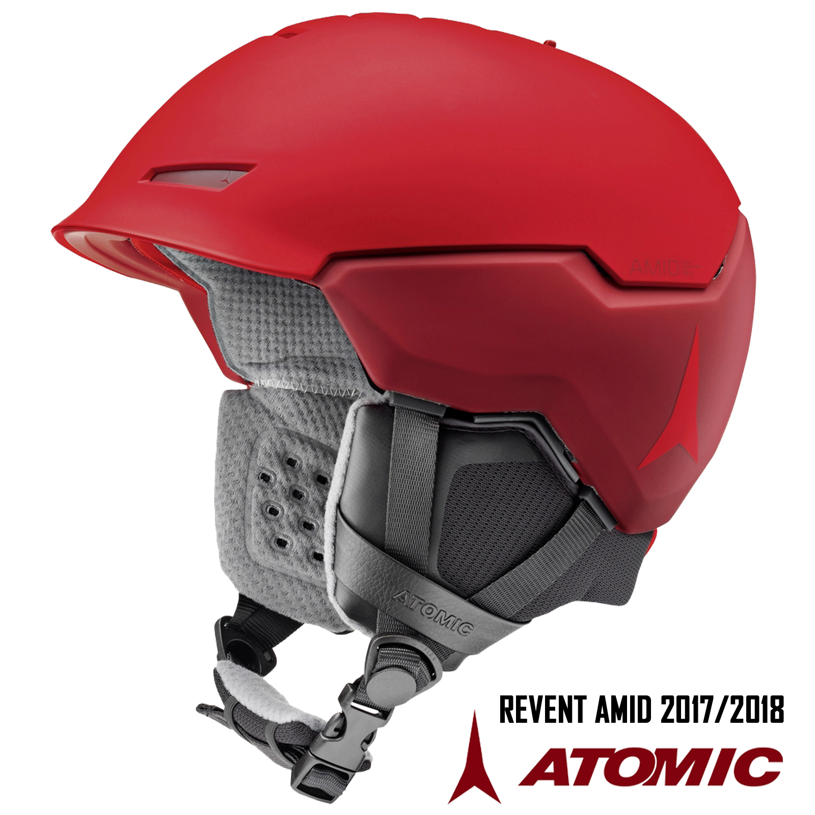 ATOMIC REVENT+ AMID Skihelm LIVE FIT +360° +360° +360° FIT SYSTEM 59-63  2017 2018 UNI6 2a9218