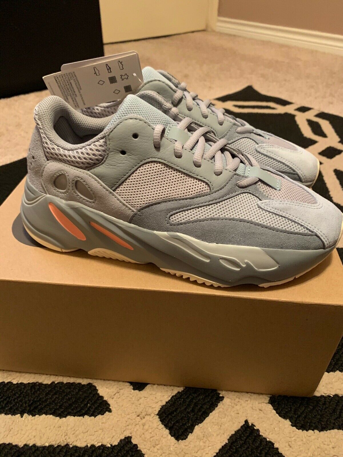 NEW ADIDAS YEEZY BOOST 700 'Inertia' Size 7 CONFIRMED ORDER  100% AUTHENTIC.