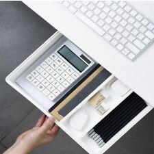 Drawer Box Self Adhesive Under Desk Drawer Hidden Organizer Table Storage Holder