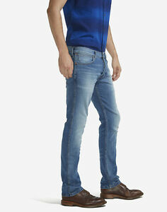 8af6cebeb78 Image is loading Mens-Ex-Wrangler-Spencer-Stretch-Slim-Fit-Retro-