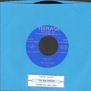 Baltineers-New-Love-Moments-Like-This-Vinyl-45-rpm-record-Free-Shipping