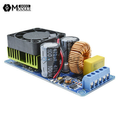 IRS2092S 250W 500W Digital Mono Channel Amplifier HIFI Power Amp Board FAN