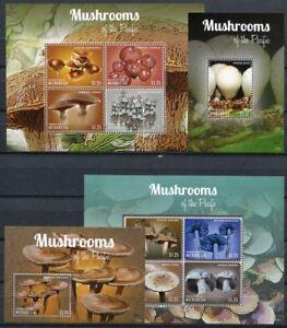 Stati-Federati-di-Micronesia-Micronesia-2013-funghi-con-i-funghi-MUSHROOMS-piante-2480-87-blocco-239