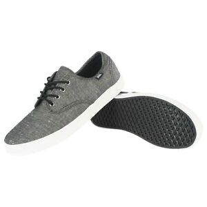 NEW VANS MADERO (CHAMBRAY) BLACK - MEN S SKATE SHOES SIZE 6.5 ... c38ee27a32
