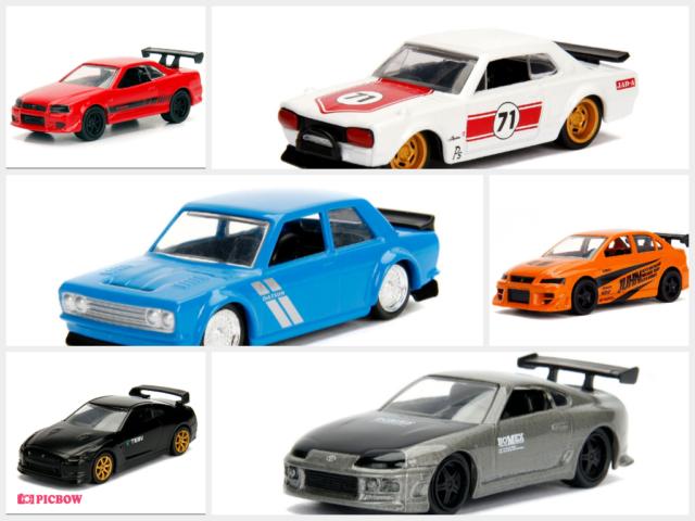 Jdm Cars For Sale >> Jada 1 64 Jdm Tuners Cars W3 Set Of 6