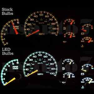 Image Is Loading Dash Cer Gauge White Smd Led Lights Kit