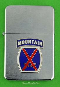 10th-MOUNTAIN-DIVISION-ARMY-WIND-PROOF-PREMIUM-LIGHTER-GIFT-BOX-ARMY-SBC091