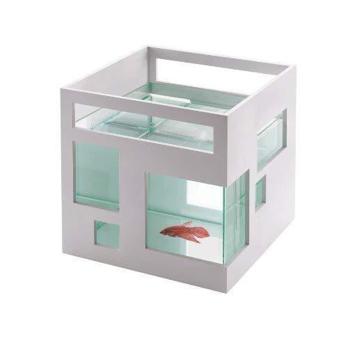 Mini Aquarium, Umbra FishHotel Great for orofish, Bettas, & Other Small Fish