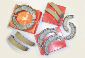 Piezas de recambio De Freno Trasero Zapatos vb139 Traje Honda Cb 200 Cb200 T (75-76)