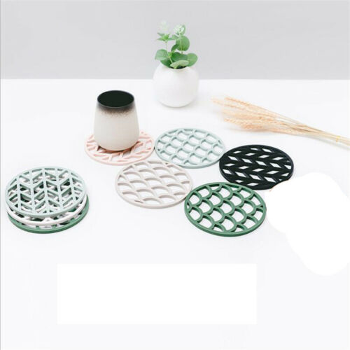 Silicone Trivet Mats Pot Holders Hot Pads Coasters Non-slip Heat Resistant