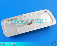 Catheter Tray 8 1/2 X 3 X 1 1/2 Surgical Dental Instruments