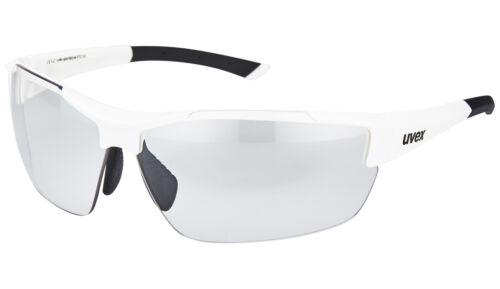 89,95 EUR UVEX sportstyle 612 VL Sonnen Brille Weiß selbsttönend UVP NEU