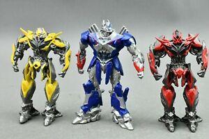 Transformers Age of Extinction Blu Ray Figures Optimus Bumblebee Stinger