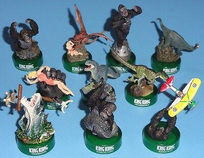 King Kong Figure Collection Complete Set of 10 KAIYODO Japan
