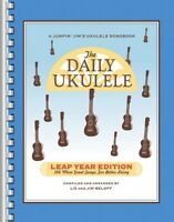 The Daily Ukulele Leap Year Edition Sheet Music 366 More Songs For Bet 000240681