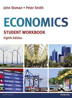 1 of 1 - Economics Student Workbook by John Sloman, Peter Smith (Paperback, 2011)