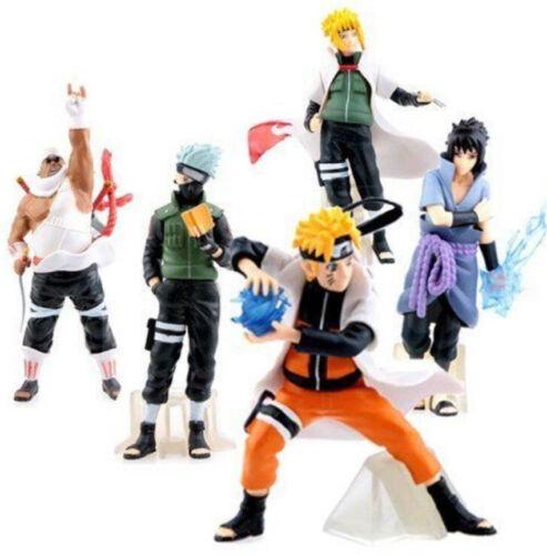 """4/"""" New 5pcs Saruke Nagato Naruto Anime PVC Dolls Action Figure Set Toys Gifts"""