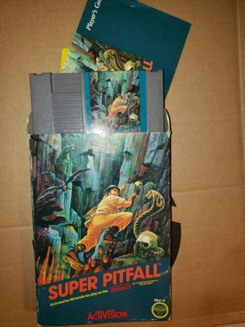 Super Pitfall (Nintendo Entertainment System, 1987) Complete Rare