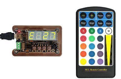 LED-Player-T para ws2812 Stripe neopix digidot; LED matrix; stand alone efectos