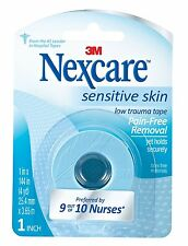 "Nexcare Tape Sensitive Skin 1""X4yd"