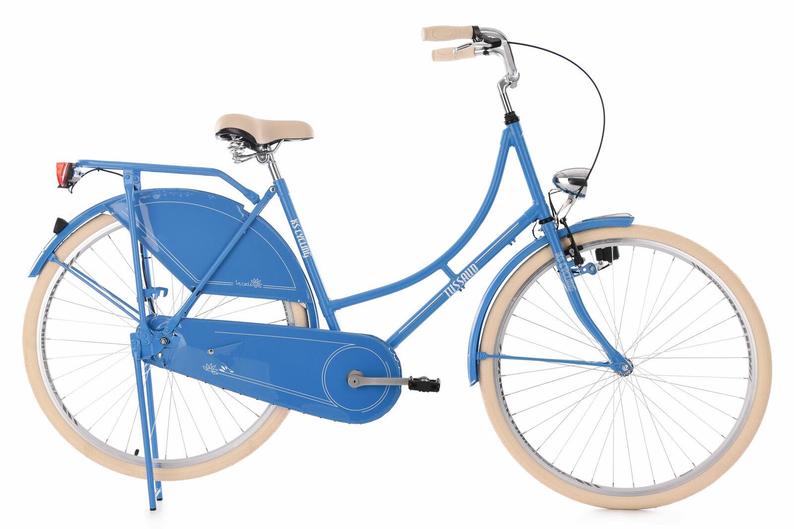 Hollandrad KS Cycling Tussaud 28 Zoll 53cm 1 Gang Damen - hellblau
