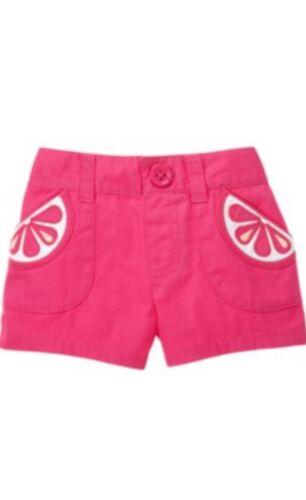 Gymboree Citrus Cooler 12-18-24 2T Polka Dot Pink Skort Polka Dot 10