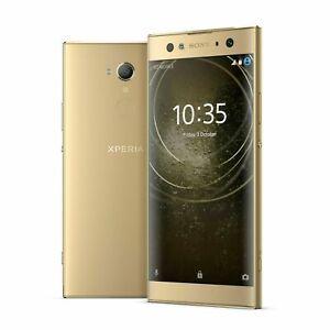 Neu-Sony-Xperia-XA2-Ultra-H3213-6-034-Entsperrt-32GB-4G-LTE-23MP-Gold-Set