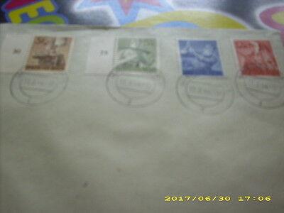 2019 Neuer Stil Briefmarken-briefe-dr-mi.nr.850+851+852+853 Kataloge Werden Auf Anfrage Verschickt Deutschland