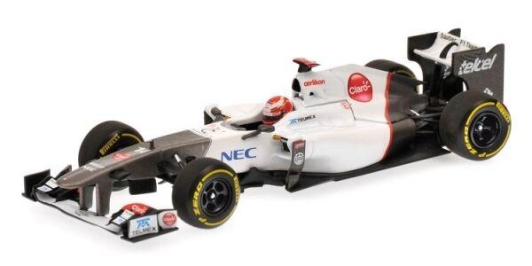 Sauber f1 K. Kobayashi Showcar 2012 1 43 MODEL MINICHAMPS