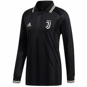 the latest cf50c 2a692 Details about ADIDAS JUVENTUS ICONS LONG SLEEVE T-SHIRT RETRO JERSEY  2019/20.