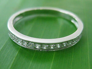 100-REAL-925-sterling-silver-034-2mm-Cz-Wedding-Band-034-Big-Size-4-5-to-13-US-GIRL