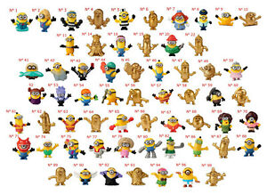 Mc Do NEUF Les Minions 2 Happy Meal Mc Donald 100 figurines à collectionner
