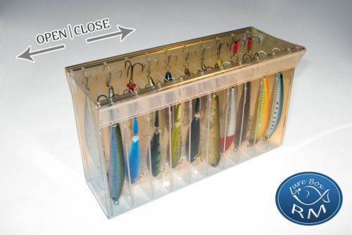 Grand double RM lure box minnow 215//60//120 mm 20 compartments storage box