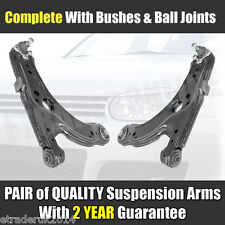 VW GOLF MK4 WISHBONES PAIR FRONT 2 LOWER SUSPENSION ARMS C/W BALL JOINT NEW