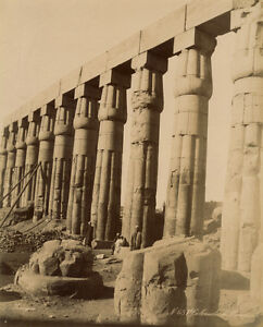 Photo-Zangaki-Albumine-Egypte-Louqsor-Vers-1875-80