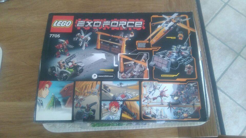 Lego Alien conquest, 7705