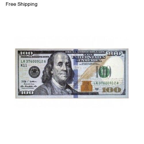 "Throw Rug Carpet 100 Dollar Bill Area Runner Floor Kitchen Bathroom 22 x 53/"" Mat"