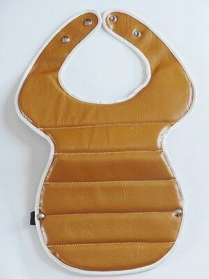NOS Vintage Tan Motorcross Chest Protector Motorcycle MX AHRMA Adult