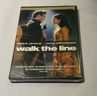 Walk The Line (dvd, Joaquin Phoenix, Reese Witherspoon, Brand New)